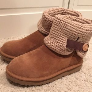7069512ca27 (Chestnut) Uggs Shaina Knit Women's size 8